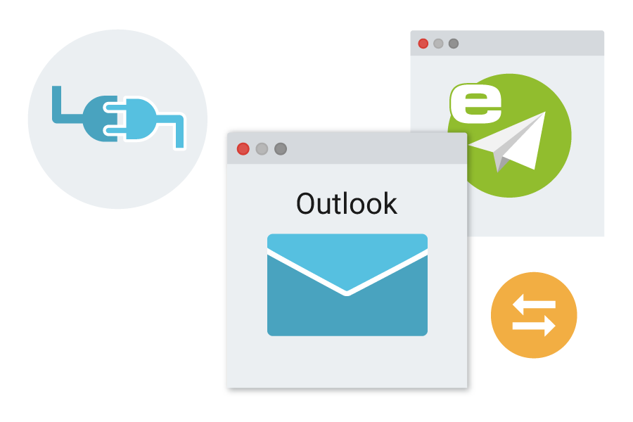 outlook plugin ecomailz email archiving