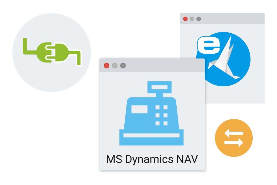 microsoft dynamics nav ecodms interface